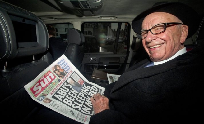 Rupert Murdoch is back to business as usual