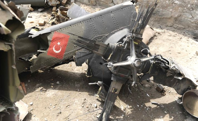 Turkish military blames technical failure for Afghan helicopter crash