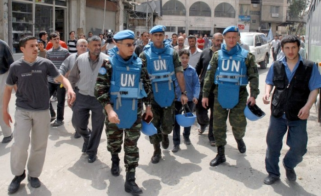 Chief UN observer to Syria leaves as mission ends