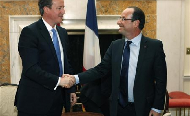 UK, France to cooperate on use of military drones