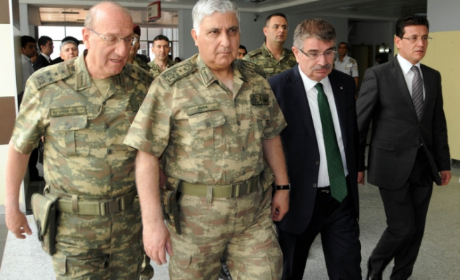 Turkish army chief says tries to speak less as a public official