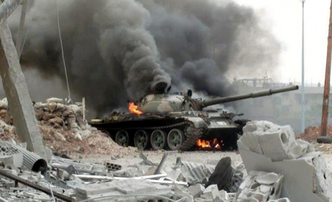 Syria army enters Damascus suburb after bombardment