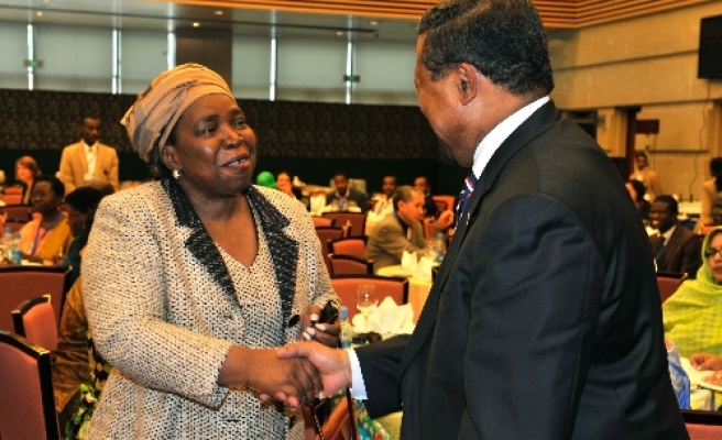 South African elected first female AU head