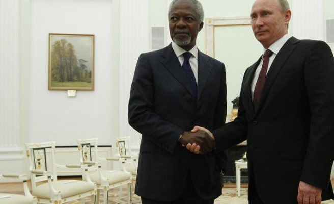 Annan urges US, Russia to find common ground in Syrian crisis