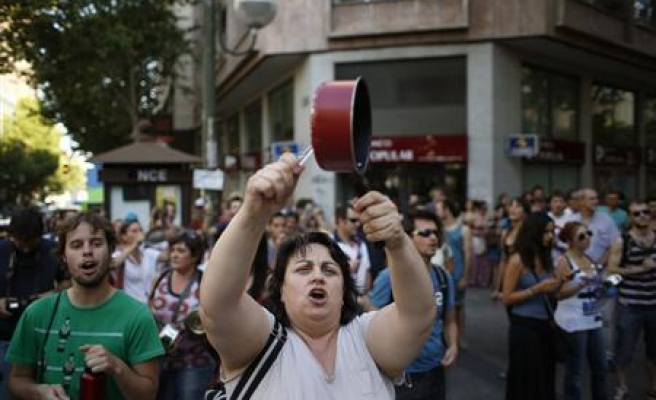 Mass anti-austerity protests on Spanish streets