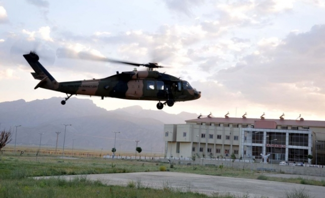 Turkish military chief says copter accident 'not PKK job'