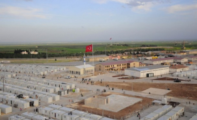 Second tent site in Sanliurfa for Syrians