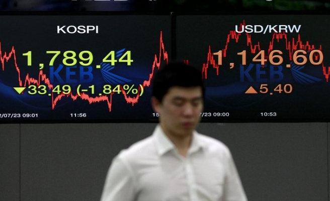 Japan exports post first fall in 4 months as Europe, China slow