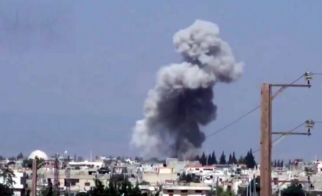 Syria rebels launch attack in central Hama