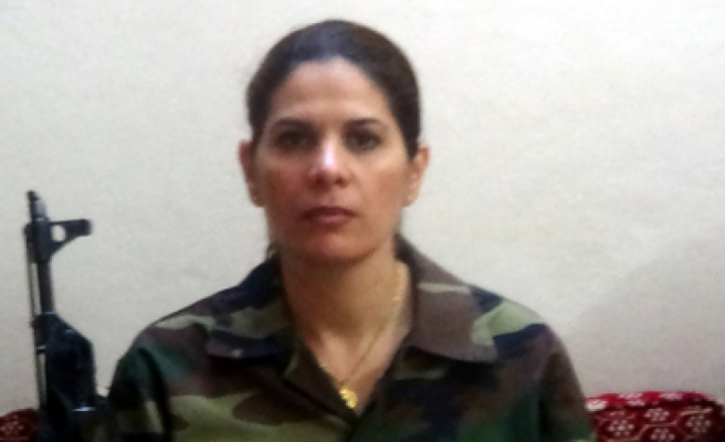Only woman soldier of FSA joins army from Canada