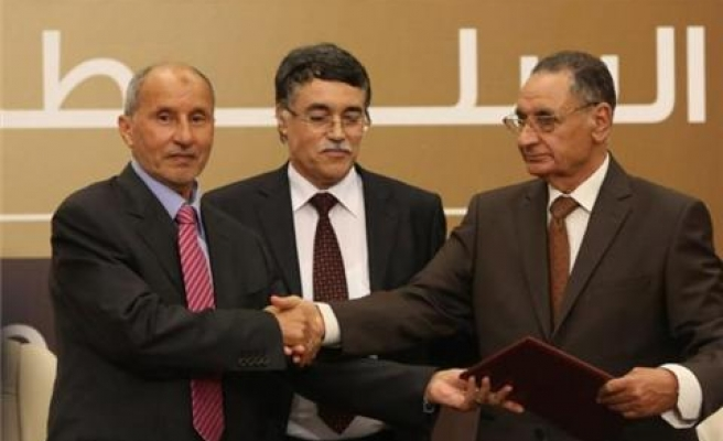 Libya's ruling council hands over power to new assembly