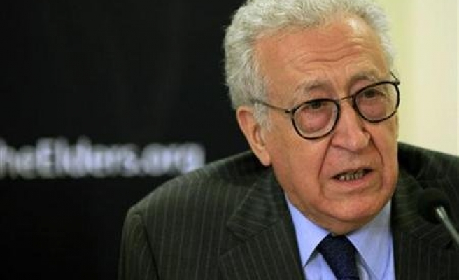 Syria would accept Algerian diplomat as Annan replacement