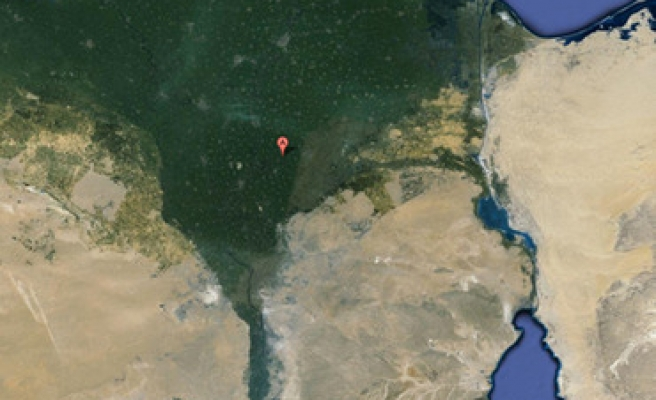 Lost Egyptian pyramids discovered with Google Earth