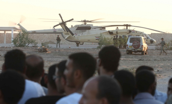 Egypt to send aircraft and tanks into Sinai: sources