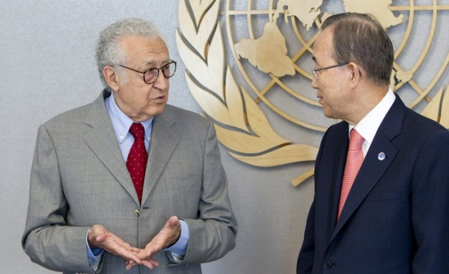 New Syria mediator tells UN chief he is 'scared'