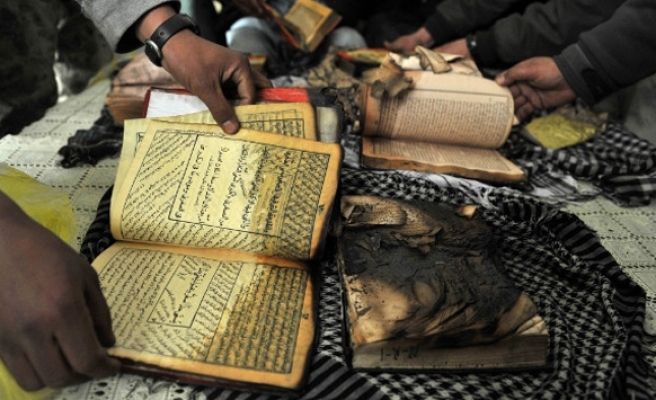 Qurans burned in front of U.S mosque