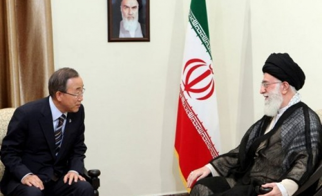 Iran leader rules out nuclear weapons, will pursue energy