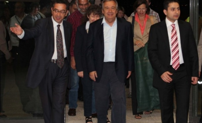 UNHCR chief rallies support for Syria refugees in Jordan