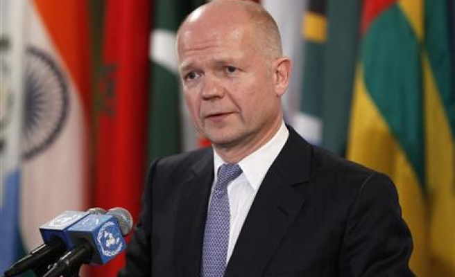 No options off table over Syria - Britain's Hague