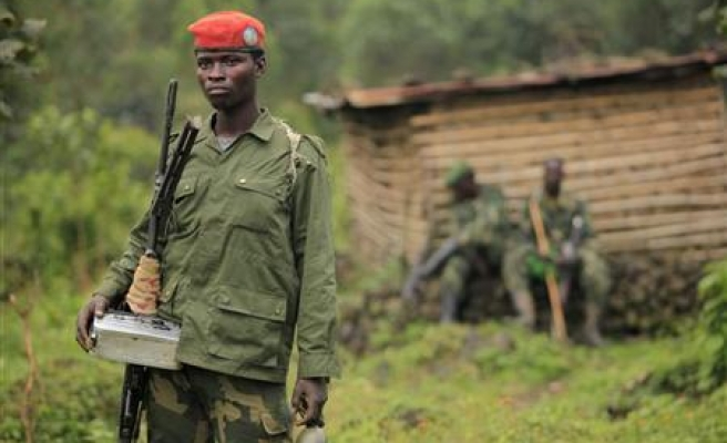 Army and rebels clash in DR Congo's Goma