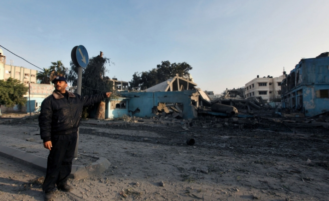 Gaza security bans meeting of unity govt officials