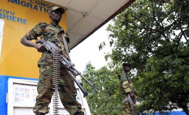 Congo's army clashes with rebels near Goma
