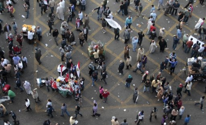 Egyptian man shot dead in clashes in capital