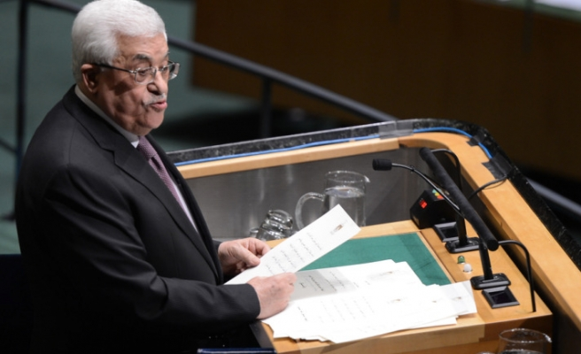 Abbas addresses the United Nations General Assembly
