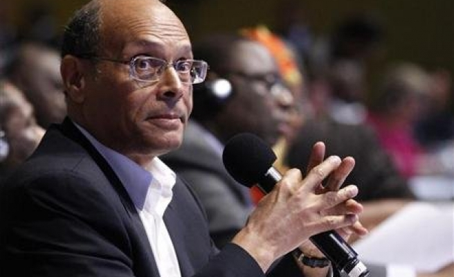 Marzouki urges Tunisians to stop old regime come-back