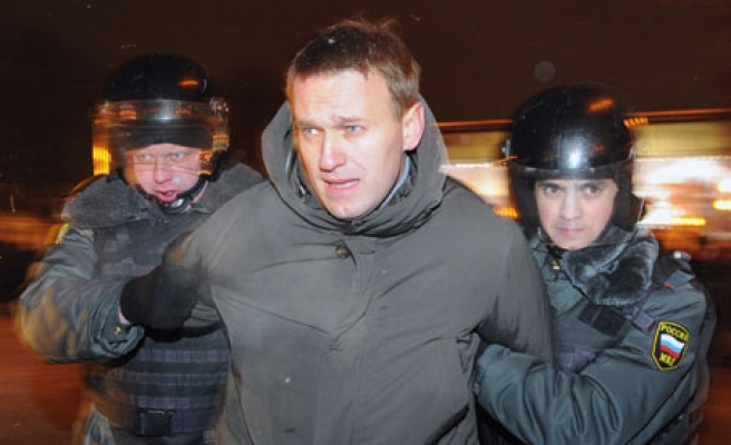 Russian opposition Navalny found guilty of theft