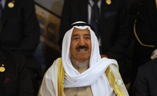 Kuwait emir hospitalized for checks after cold