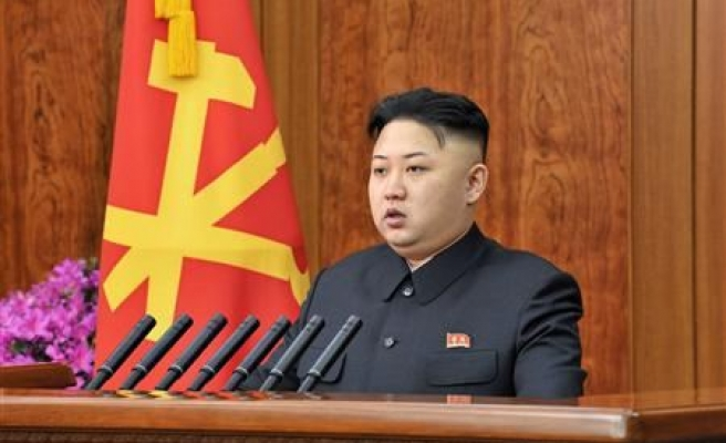 North Korean leader lashes out at 'rabid dogs'