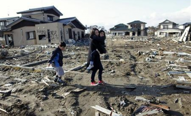 Tsunami evacuees caught in $30 billion Japan money trap