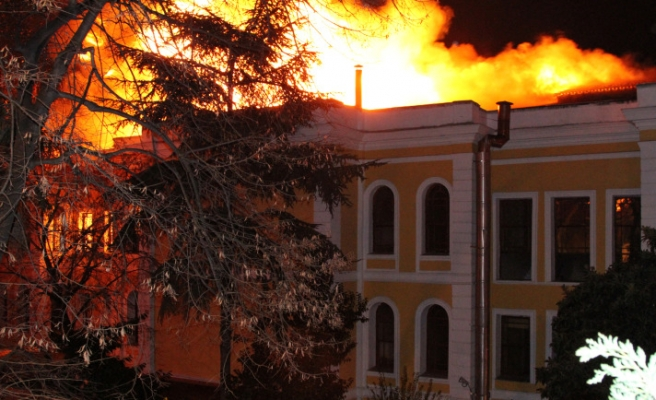 Galatasaray fire destroyed over 6,000 valuable books
