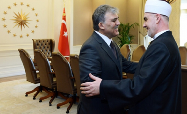Turkish President meets with Reis-ul-ulema of Bosnia