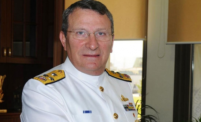 Turkish admiral allegedly resigns in protest