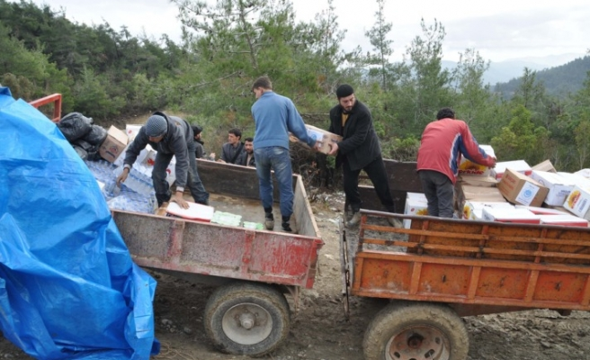 Food aid to Syrians dispatched