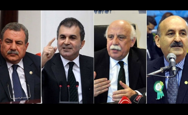 Turkish PM changes four ministers in cabinet reshuffle