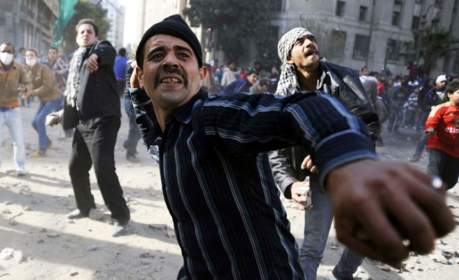 Clashes mark anniversary of Egypt uprising / UPDATED