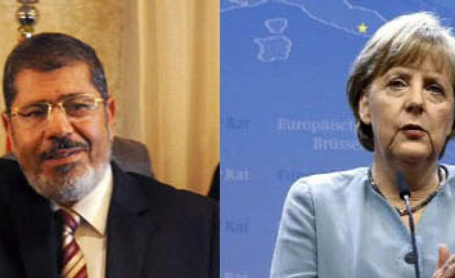 Egypt's Mursi will come together with Merkel