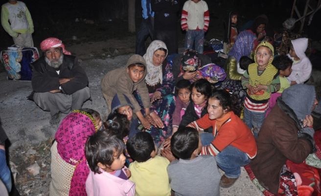 89 Syrians want to return to Syria at Nusaybin Border Gate