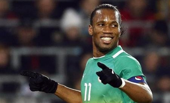 Galatasaray sign Drogba for 18 months
