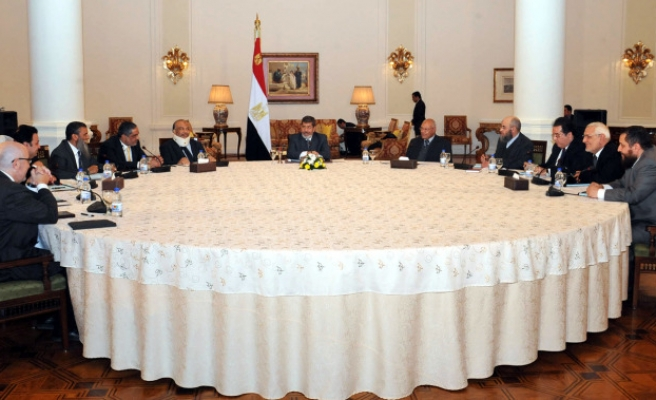 National dialogue begins in Egypt