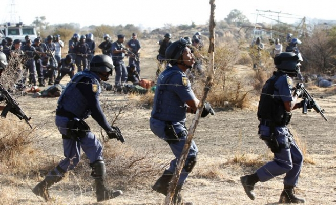 S.Africa police clash with ANC supporters