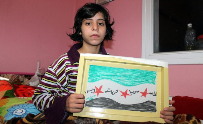 Her father killed by sniper attack, she crippled