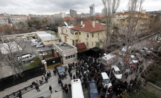 Turkish leftist group claims US embassy attack