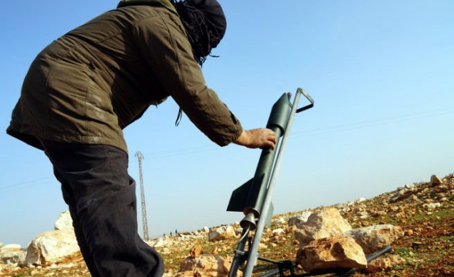 New hand made missiles of Free Syrian Army