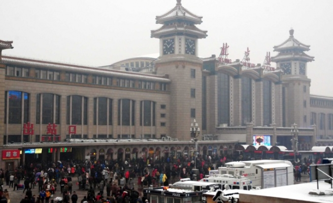 Great human movement in China for Spring Festival