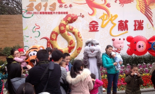 Chinese people mark Year of the Snake with celebrations