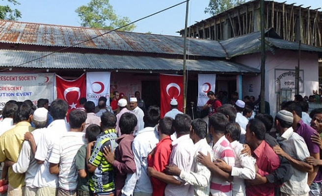 Turkish aid group to construct residences in Myanmar